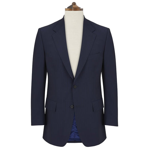 Cambridge Navy Blue Pinstripe Suit
