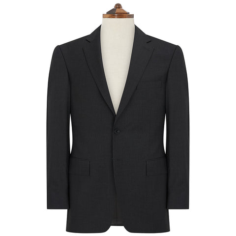 Richmond Charcoal Nailhead Suit III