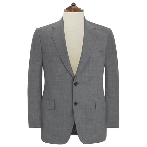 Kensington Grey Sharkskin Suit I