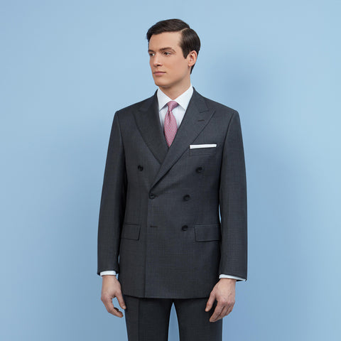Farringdon Charcoal Tonal Check Suit