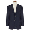 Bentley Navy Single Breasted Wool Blazer
