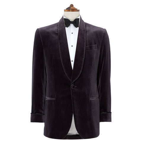 Windsor Pewter Velvet Jacket
