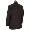 Warrick Brown Check Wool Jacket