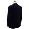 Devere Navy Velvet Jacket
