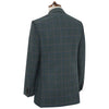 William Green and Blue Windowpane Check Jacket