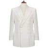 Balfour Ivory Double Breasted  Linen Jacket