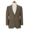 William Brown Houndstooth Check Wool Jacket