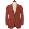 William Rust Herringbone Linen Jacket
