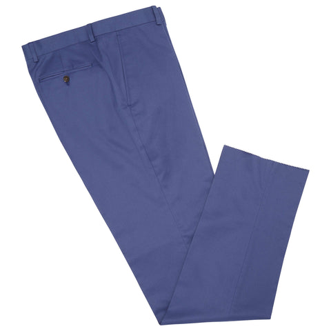 Barney Blue Cotton Trouser