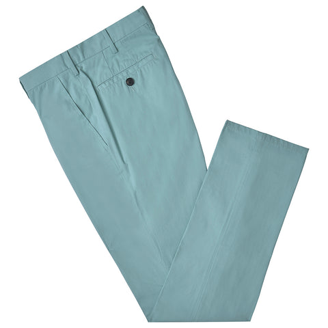 Terrance Mint Cotton Chino Trouser