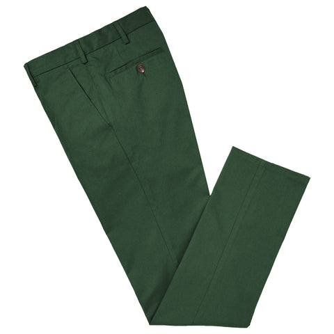 Terrance Green Cotton Trouser