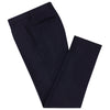 Barney Navy Flannel Trousers