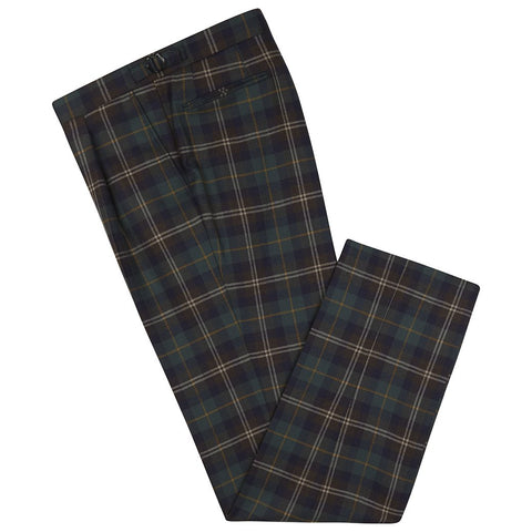 Barney Green Tartan Check Trouser
