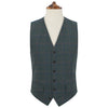 Hyde Green and Blue Check Waistcoat