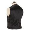 Hudson Black Grosgrain Silk and Cotton Waistcoat