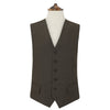 Hyde Brown and Green Gingham Check Waistcoat