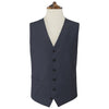 Hyde Blue and Grey Herringbone Waistcoat