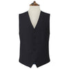 Hyde Navy and White Chalk Stripe Waistcoat