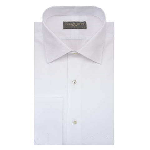 Dalton White Traditional Marcella Shirt