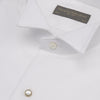 Dryden White Marcella wing collar shirt