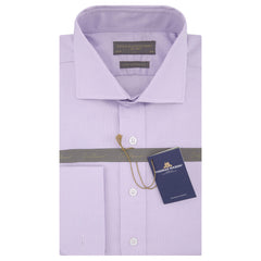 Ambrose Lilac Royal Oxford Cotton Shirt