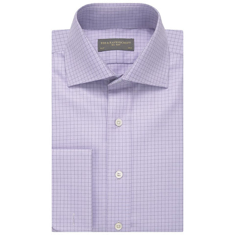 Angus Purple Check Shirt