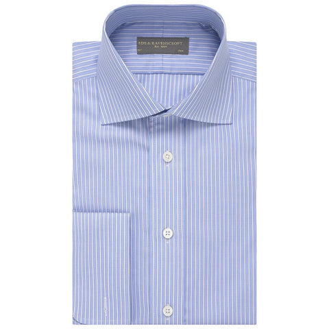 Angus Blue Stripe Shirt