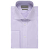 Abbott Purple and White Check Shirt