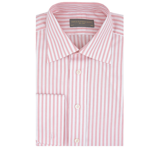Pink and White Ainsley Stripe Shirt