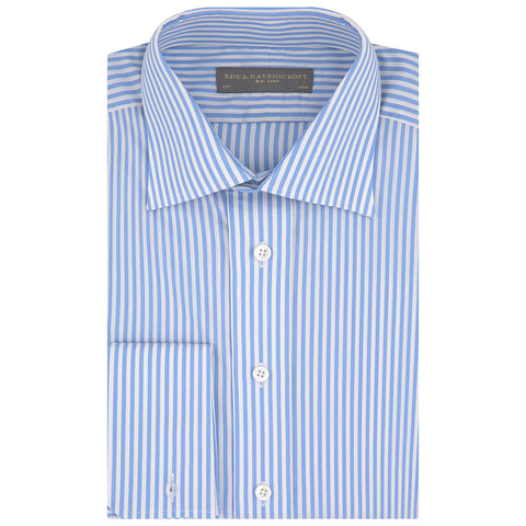Ainsley Blue Bold Stripe Shirt
