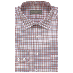Aragon Pink and Blue Gingham Check Shirt