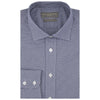 Alex Navy Micro Houndstooth Shirt