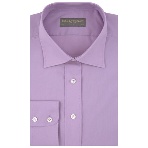Alistair Purple Oxford Shirt