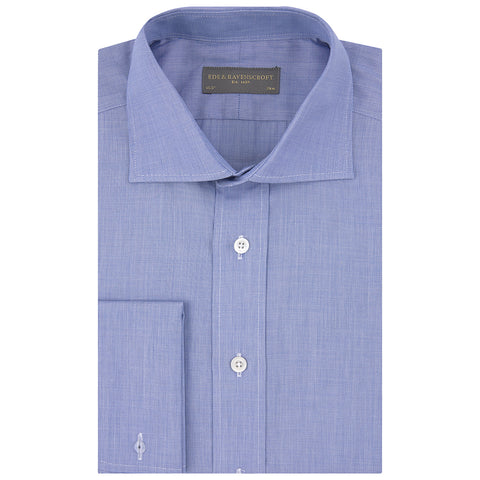 Angus Blue Textured Shirt