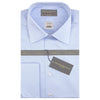 Sylvan Pale Blue Sea Island Poplin Shirt