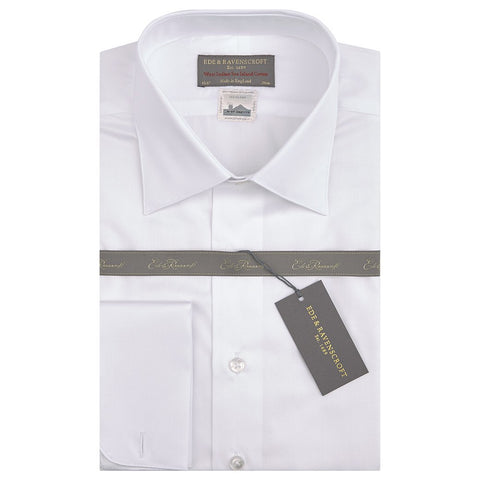 Sylvan White Sea Island Cotton Shirt