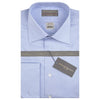 Sylvan Blue and White Sea Island Poplin Shirt