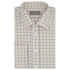 Ainsley White and Ochre Tattersall Check Shirt