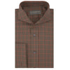 Anson Beige and Black Houndstooth Shirt