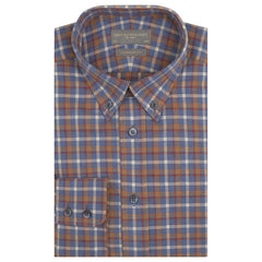 Alvin Blue and Red Gingham Check Shirt