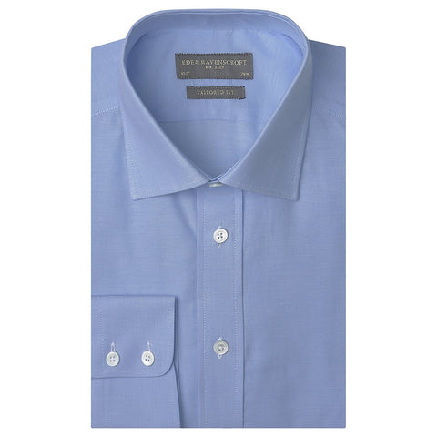 Alex Pale Blue Oxford Shirt