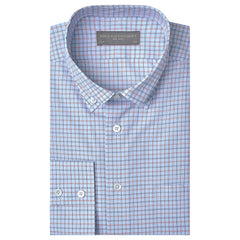 Angelo Blue and Red Check Shirt