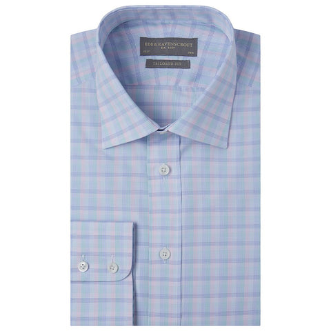 Alex Pink Green and Blue Check Shirt