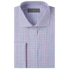 Angus Pink and Blue Check Shirt