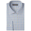 Alderney Blue and Green Tattersall Shirt