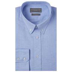 Alvin Pale Blue Cotton Linen Shirt