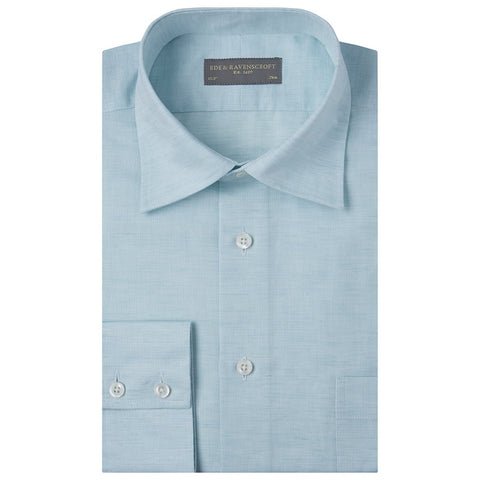 Aragon Mint Green Cotton and Linen Shirt