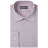 Aragon Plain Linen Shirt Pale Pink 15.5R