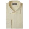 Aragon Pale Yellow Plain Linen Shirt