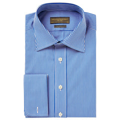 Andrew Blue Bengal Stripe Shirt